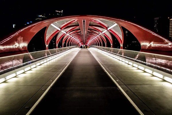 Peace Bridge - Calgary's Best Photo Spots - Lauren's Lighthouse