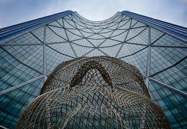 The Bow Wonderland Sculpture - Calgary's Best Photo Spots - Lauren's Lighthouse