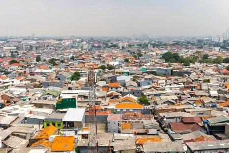 Jakarta Slums by Voicu Horatiu
