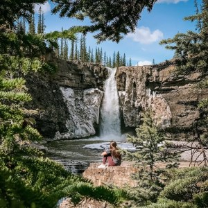 Hidden Gem Waterfalls in Alberta - Lauren's Lighthouse