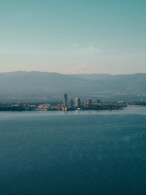 View of Downtown Kelowna - Lauren's Lighthouse