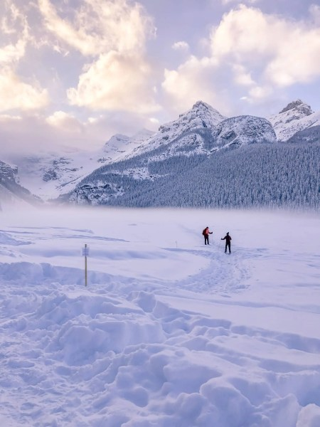 Fairmont Chateau Lake Louise, cross-country skiing - Lauren's Lighthouse