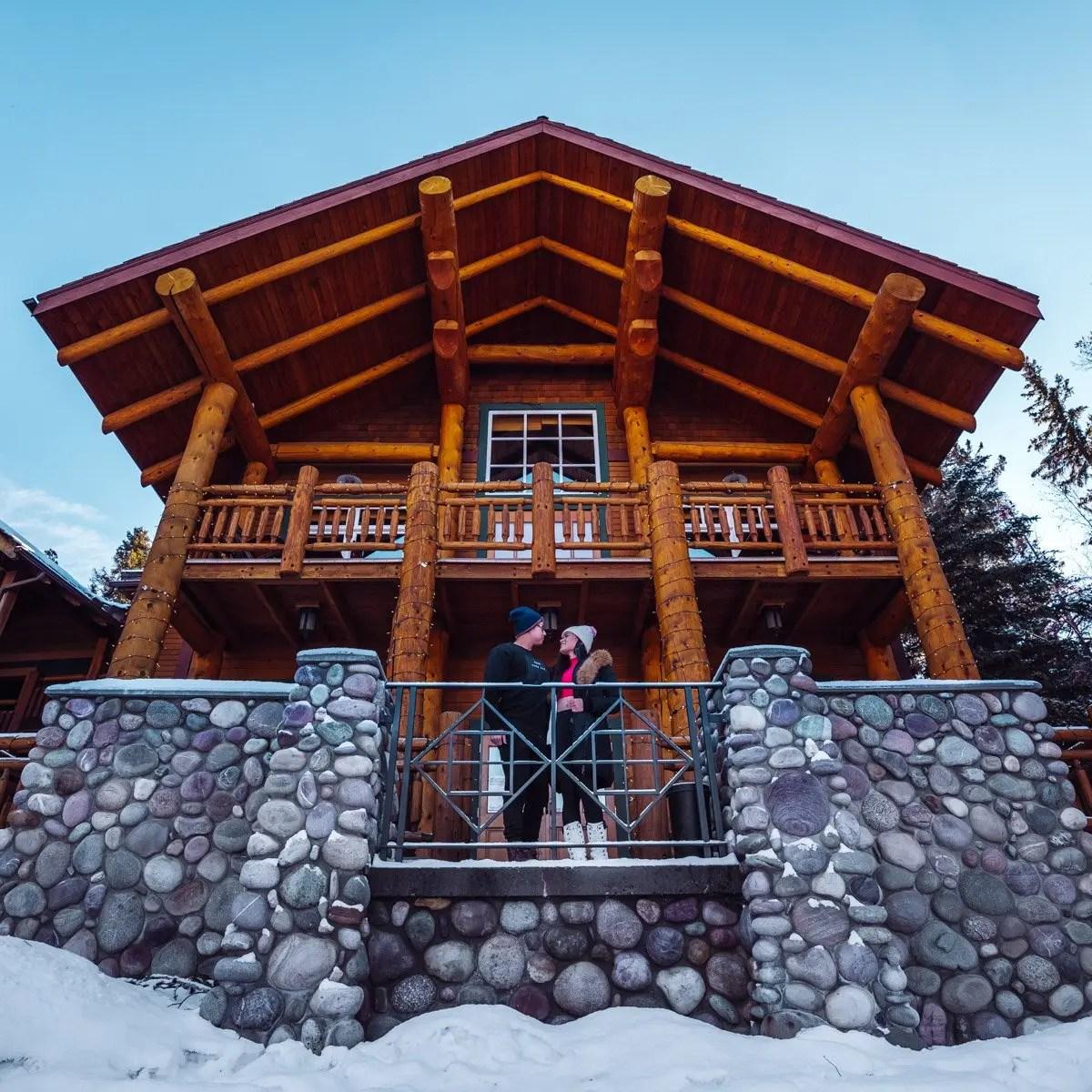 Buffalo Mountain Lodge in winter