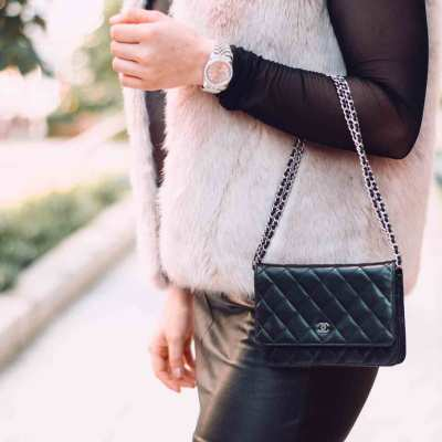 Mesh and Leather and Fur, Oh My! | OOTD
