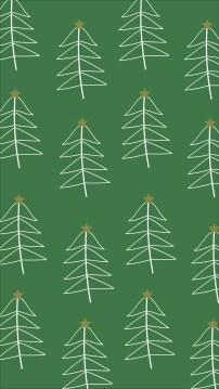 Green/White Trees