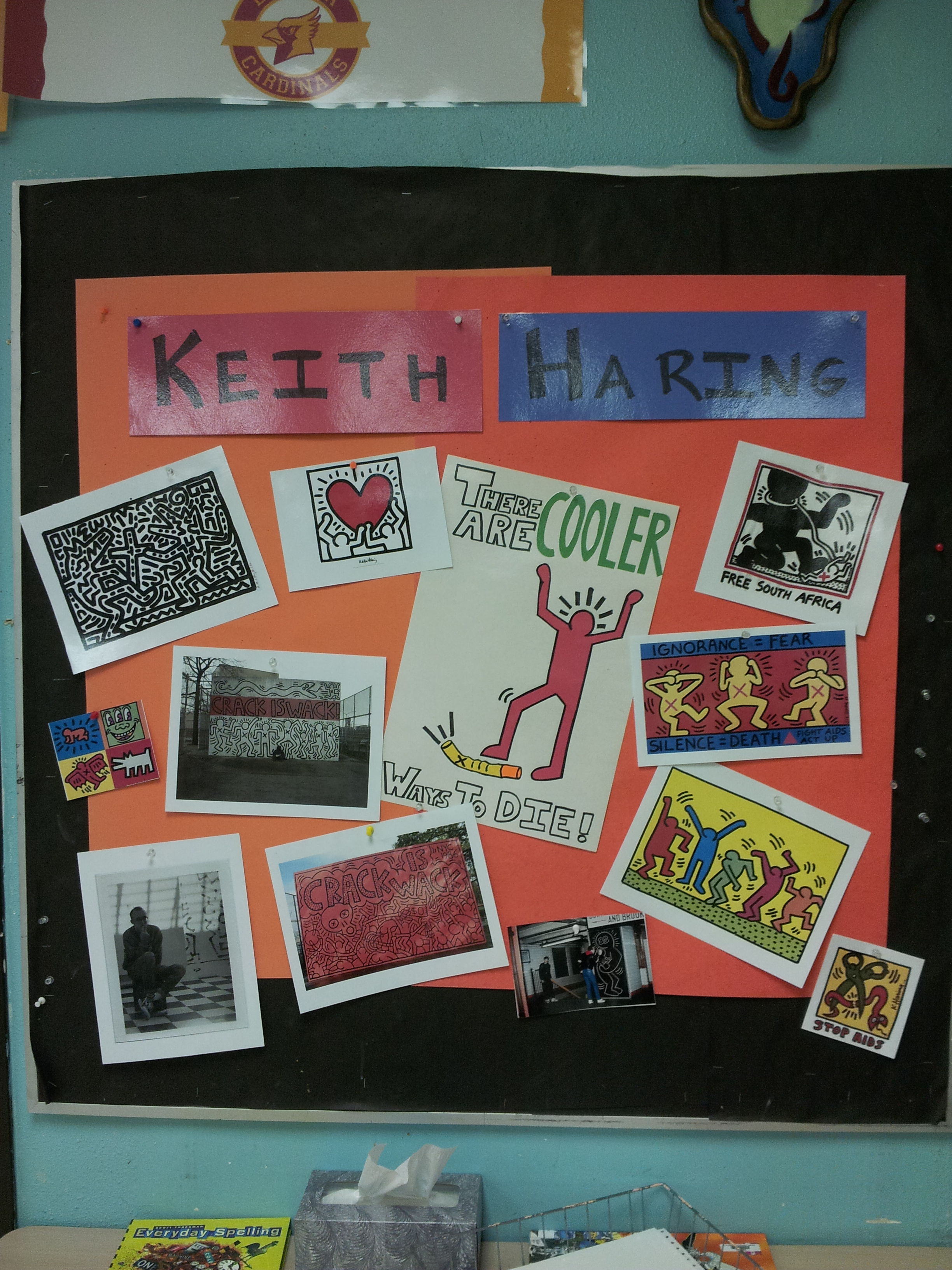 Keith Haring Red Ribbon Week