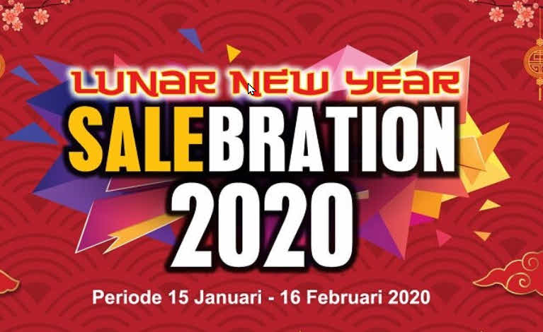 lunar new year saleberation 2020