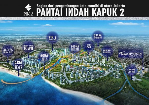 Construction Progress Proyek Pembangunan PIK 2 Update Mei 2020