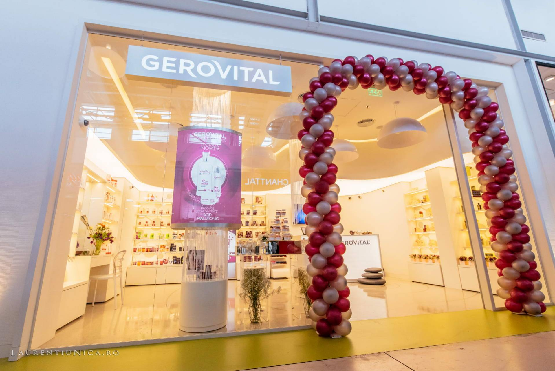 Deschidere magazin Gerovital / Farmec Romania