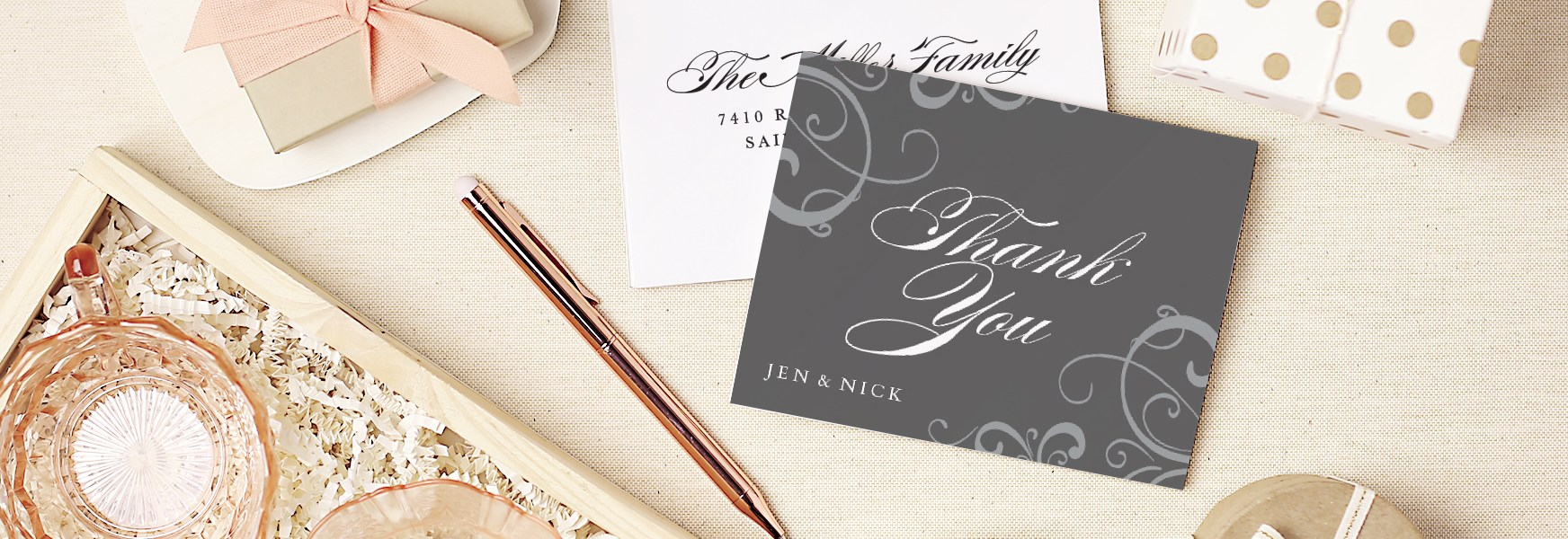 Why I'm Obsessed with Basic Invite's Thank You Cards
