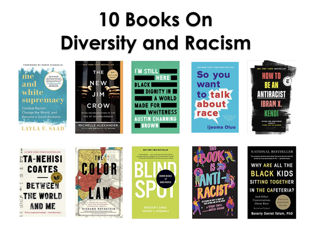 10 Books to Read on Racism & Diversity