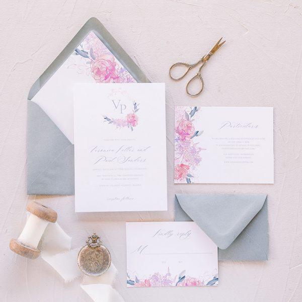 What S In A Wedding Invitation Suite Lauren Yvonne Design