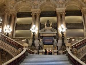 Grand staircase Opera Garnier