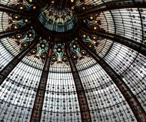 Raise your eyes to the heavens at Galeries Lafayette