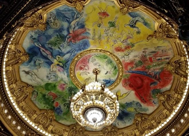 Opera Garnier, Marc Chagall