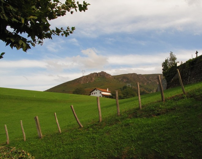 'the green steep slopes of the Basque countryside' Mark Kurlansky