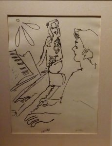 Gordon Seward: La répetition, Brigitte Hool in rehearsal Le Capitole