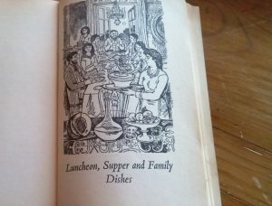 Illustration from French Country Cooking by Elizabeth David