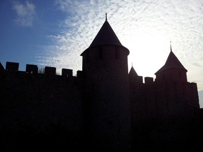 Carcassonne, evening