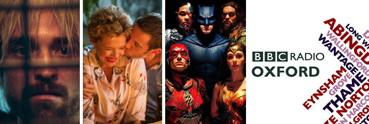 Reviews: Justice League, Film Stars Don't Die in Liverpool and Good Time – BBC Oxford Drivetime with Howard Bentham (16 Nov 17)