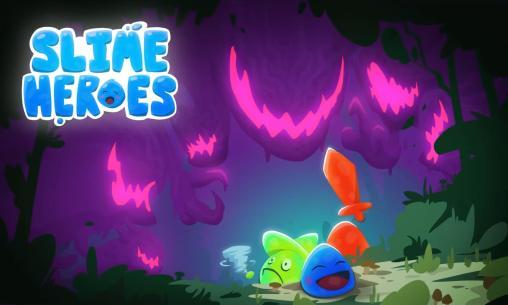 Slime Heroes Title Screen