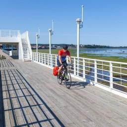Groupe Vélo-Québec était de passage cet été à Rimouski !