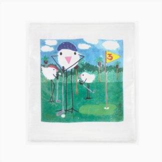 Flour Sack Towel - Golf Pro