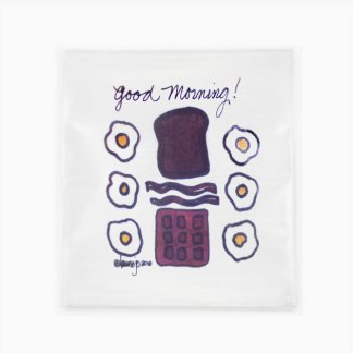 Flour Sack Towel - Good Morning Waffle