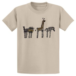 UniSex-SS-Tee-tan-zoo-row
