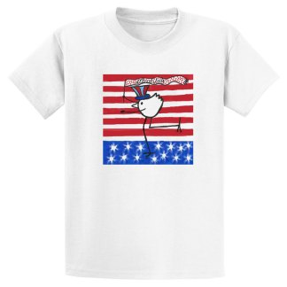 UniSex-SS-Tee-white-4july-banner-bird