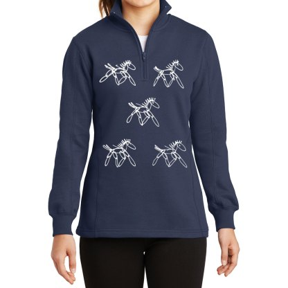 14-Zip-Sweatshirt-navy-running-horses