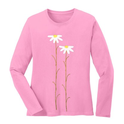 LS-Tee-pink-dasiesW