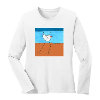 LS-Tee-white-beach-dancing-bird