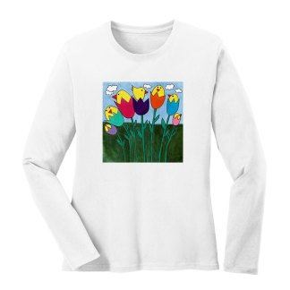 LS-Tee-white-tulip-birds
