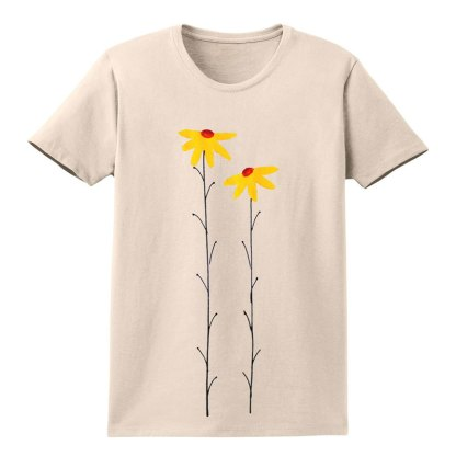 SS-Tee-natural-yellow-daisies
