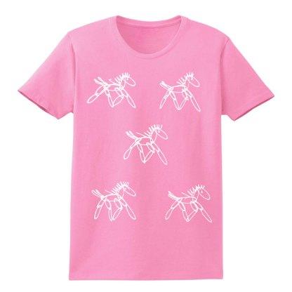 SS-Tee-pink-running-horsesW