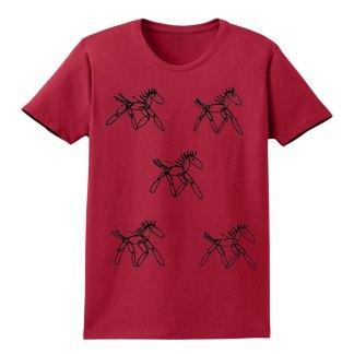 SS-Tee-red-running-horsesB