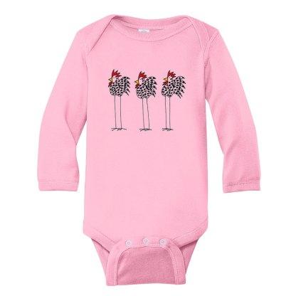 LS-Romper-pink-3-chickens