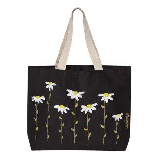 Tote-black-daisies