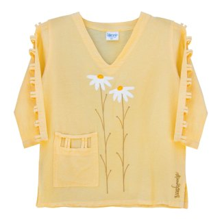 lattice-sleeve-w-pocket-yellow-daisies