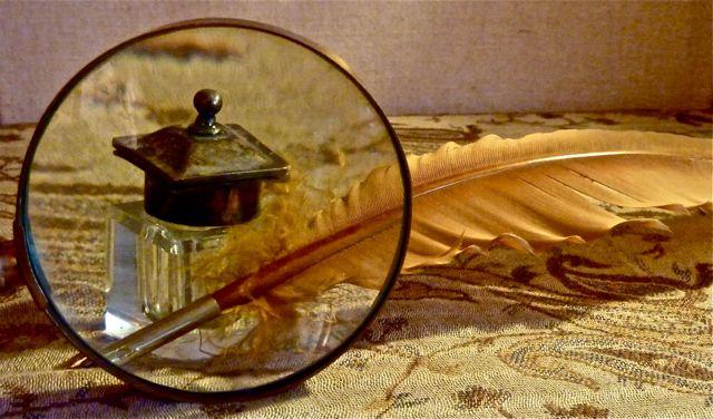 Through a Glass, Slowly