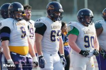 20170324 - Kha Vo - Laurier Football scrimmage vs Western_-179
