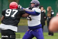 20170331 - Kha Vo - Laurier Football scrimmage vs Guelph_-100