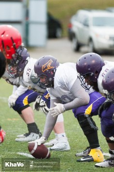 20170331 - Kha Vo - Laurier Football scrimmage vs Guelph_-133