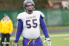 20170331 - Kha Vo - Laurier Football scrimmage vs Guelph_-14