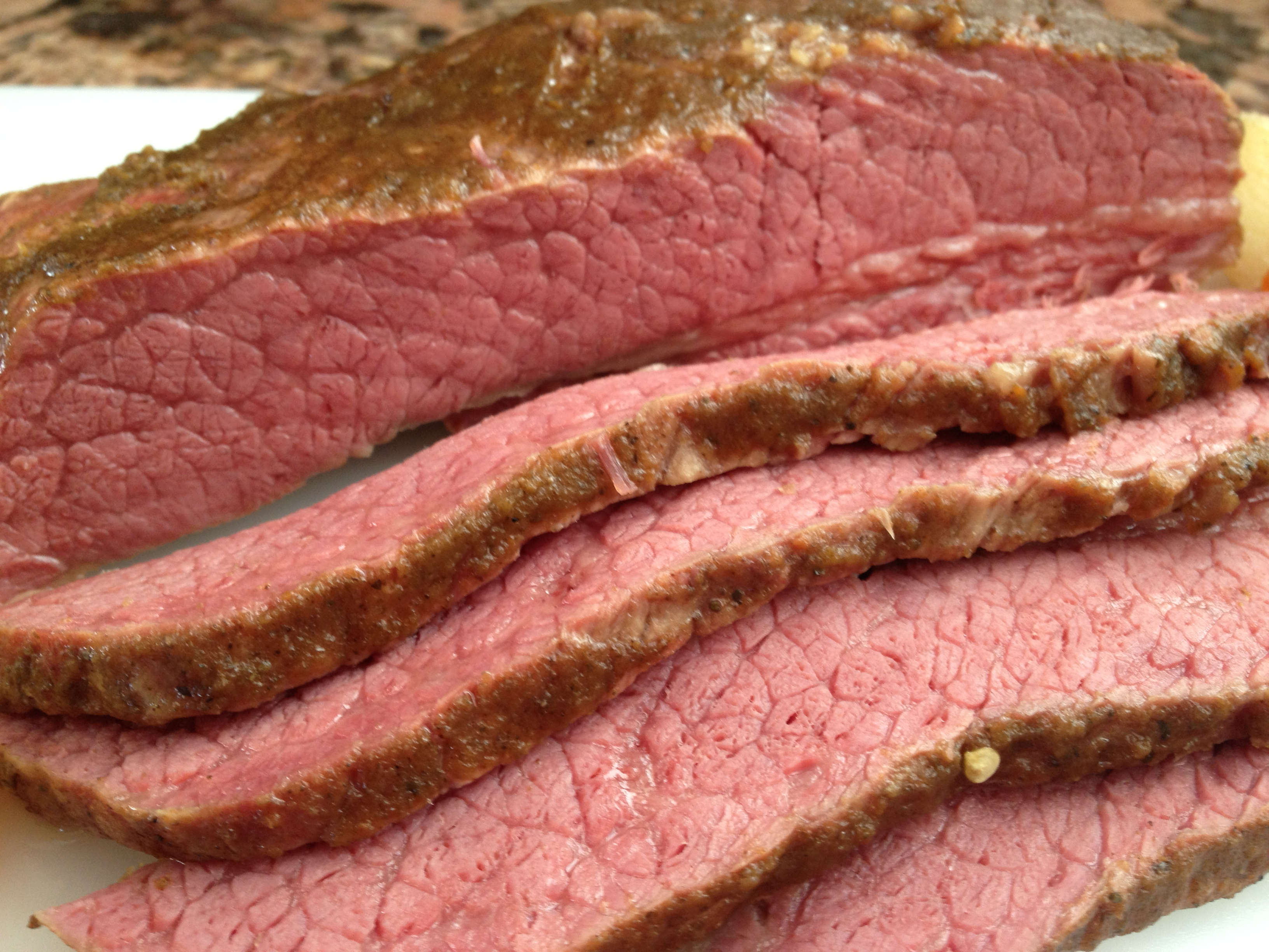 Baked Corned Beef with a Kick