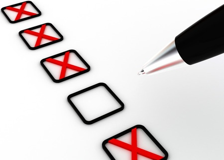 image - editing checklist