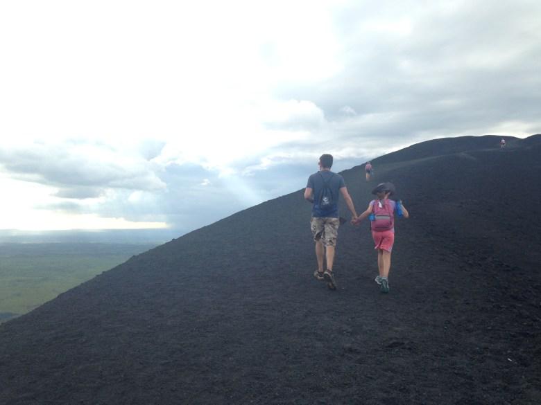 Go Nicaragua 2016: Juntos on Cerro Negro
