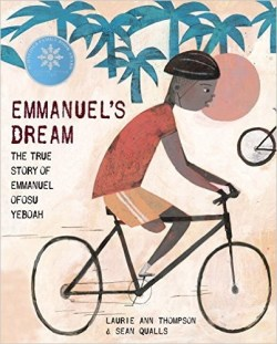Emmanuels Dream cover with sticker