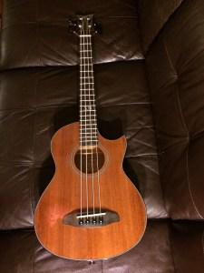 Ortega acoustic electric mini bass